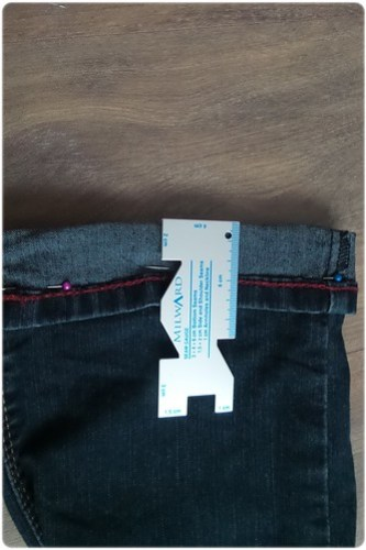 jeansbroek inkorten (2)