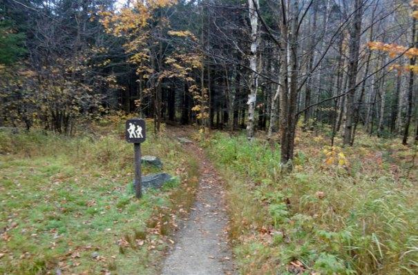 Baldpate Mountain AT Trailhead