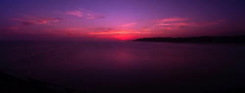 Purple Sunset Pano 641 - 4k Wallpaper - DSC05641-3 wm