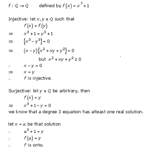 RD Sharma Class 12 Solutions Free online Chapter 2 Functions Ex2.1 Q5-xiii
