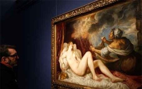 Dos poesías de Tiziano se muestran juntas en Madrid