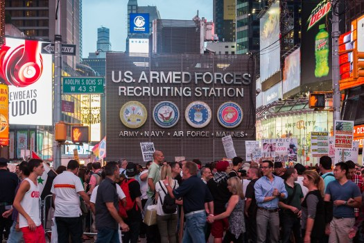 New-York-City-us-armed-forces-recruiting-station