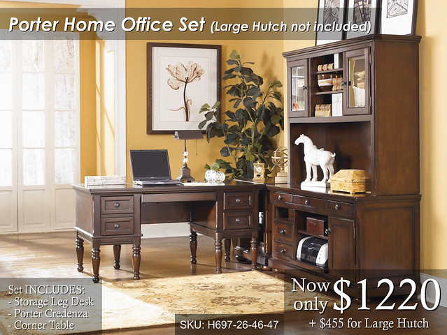 Porter Home Office - Priced