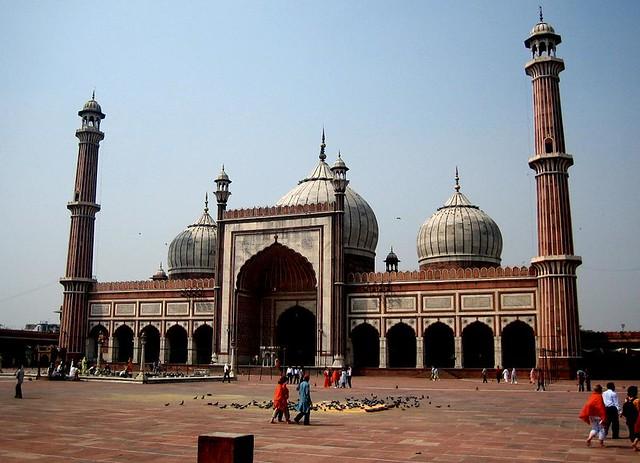 Que ver en Delhi Jama Masjid
