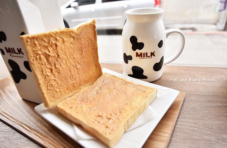 台中早午餐原三十木瓜牛奶13