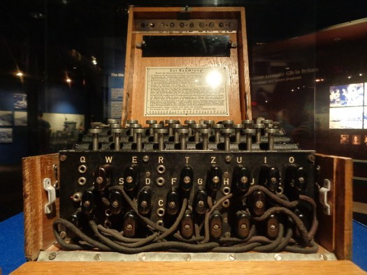 Enigma Machine WWII Museum, New Orleans