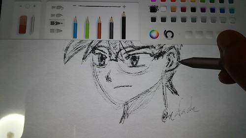 Surface Pen ใช้จดโน้ตก็ได้ ใช้วาดรูปก็ดี