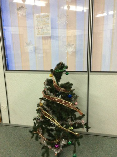 Office Christmas deco