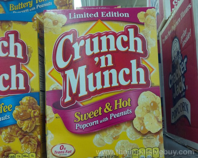 Limited Edition Sweet & Hot Crunch 'n Munch