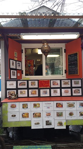 Moroccan food cart Portland