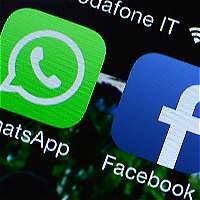 Logos WhatsApp FaceBook