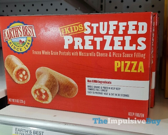 Earth's Best for Kids Pizza Stuffed Pretzels