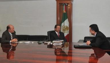 Se reúne el gobernador Toranzo con Embajador de México en Irlanda