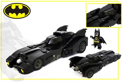 89 Batmobile LED scale