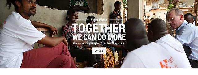google fight ebola