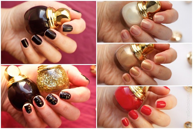 Dior Golden Shock Makeup Collection for Christmas 2014 swatches