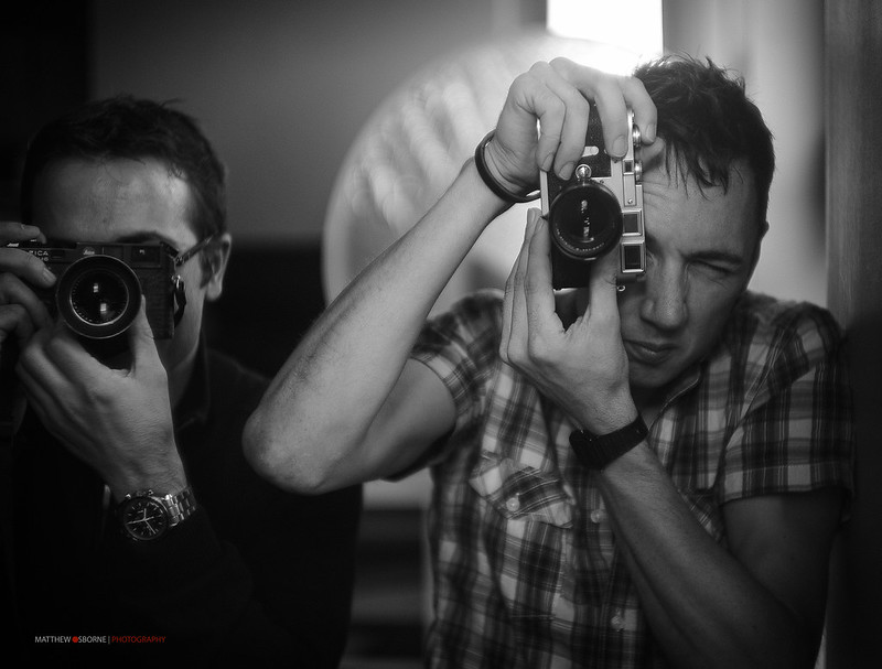 Mr Leica - in Action!