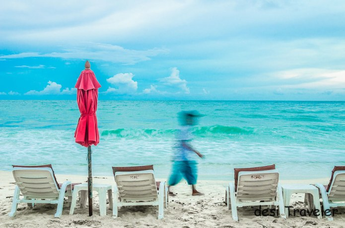 Beach in Koh Samui Thailand