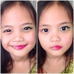 half of the make up :)