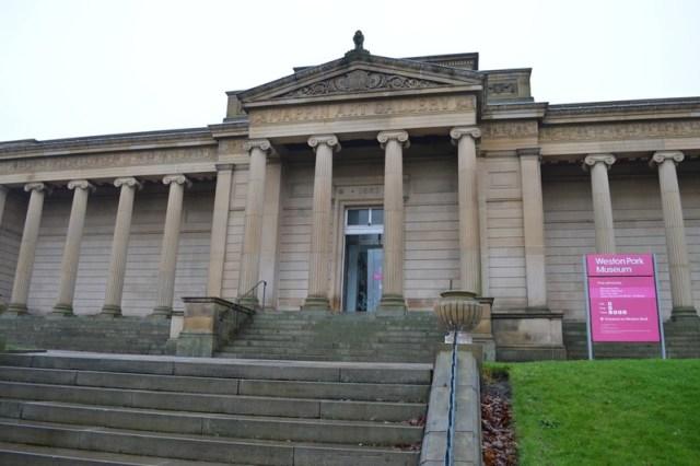 Weston Park Museum facade