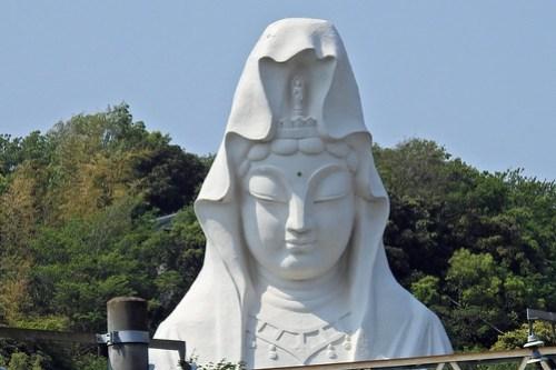Ohhuna Kannon(Buddhist Temple) at Kamakura, Japan
