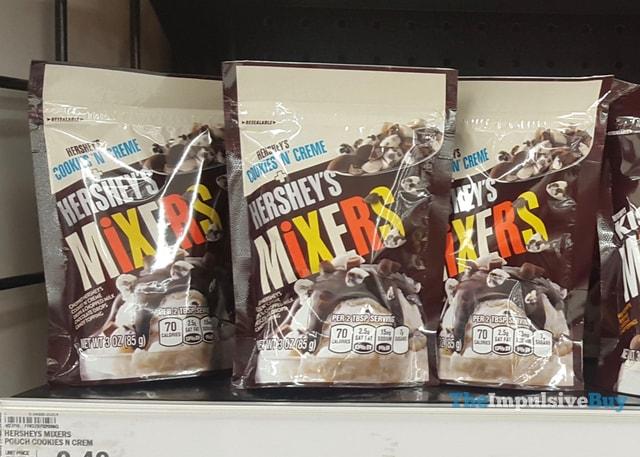 Cookies 'n' Creme Hershey's Mixers