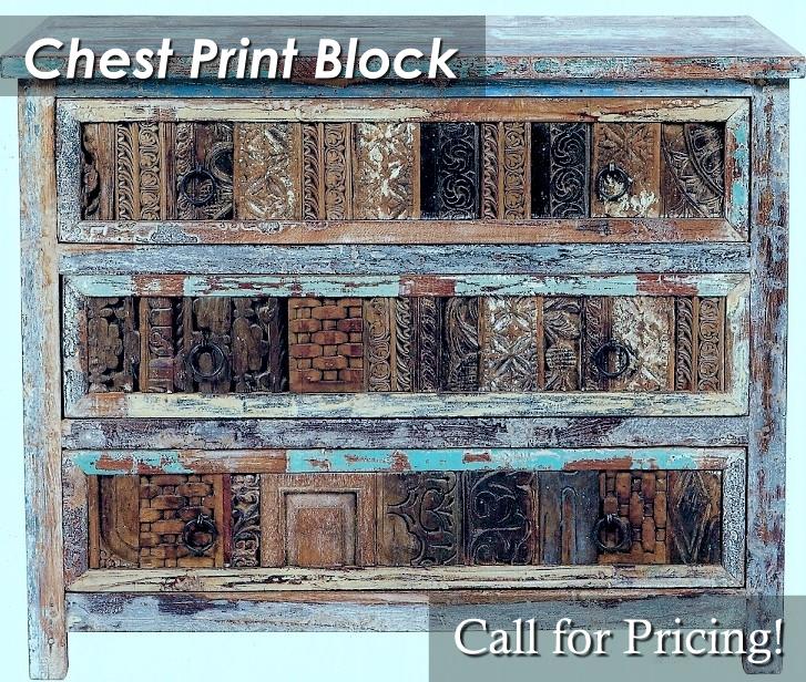 CDSB30W40X1832 Chest Print Block