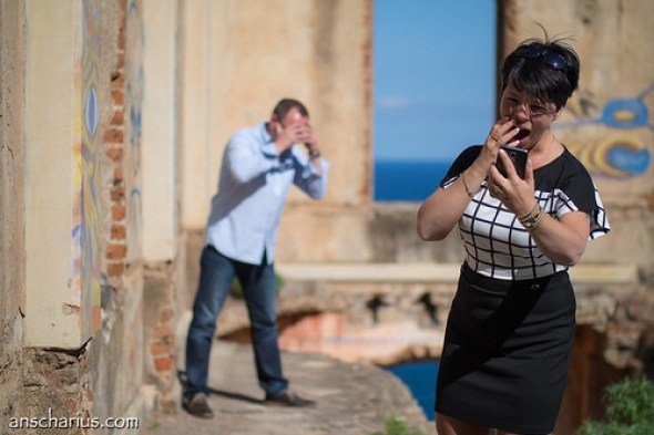 Shooting Ines & André with Motion Blurr #1 - Olympus OM-D E-M2 & Nocticron