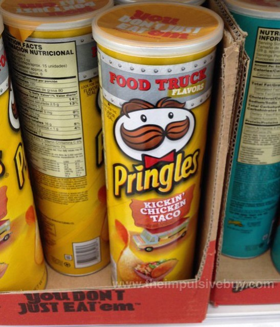 Spotted On Shelves Food Truck Flavors Kickin Chicken Taco Pringles