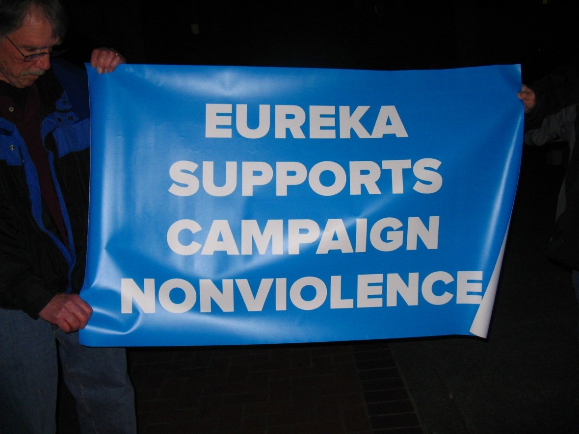 Eureka,CA Candlelight Vigil - CNV 2016 (3)