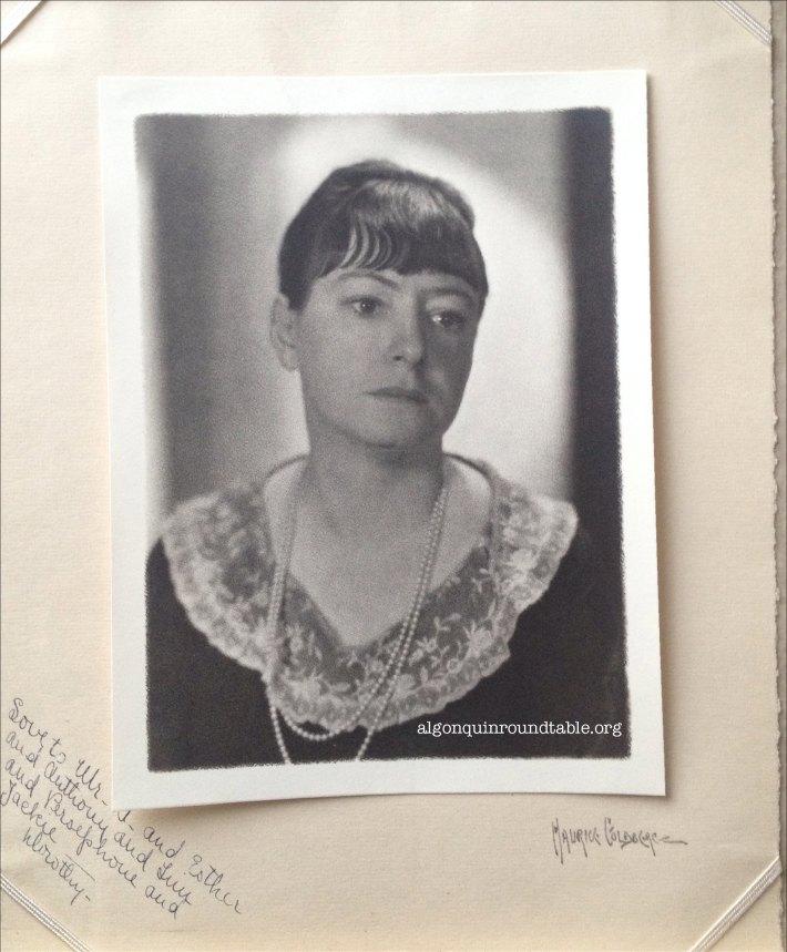 Dorothy Parker Autograph