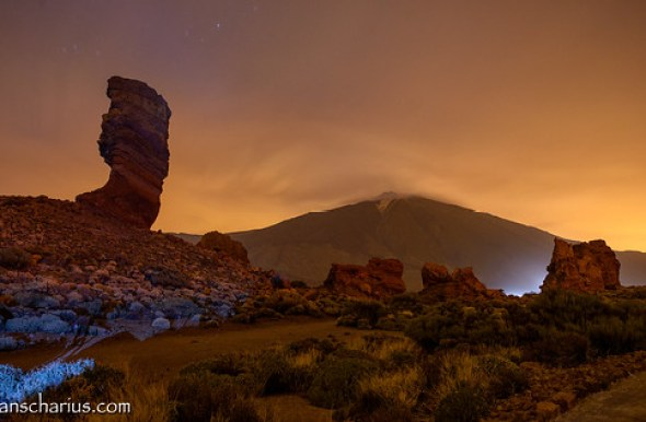Colorful Night @ El Teide - Nikon D800E & Nikkor 2,8/14-24mm