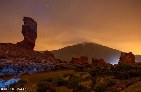 Colorful Night @ El Teide - Nikon D800E & Nikkor 2,8/14-24mm