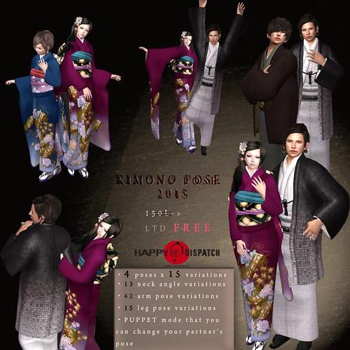 [HD]KImono pose (2015)-DELUXE- FREE or 5L