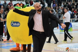 Coach Maurizio Buscaglia (Trento)