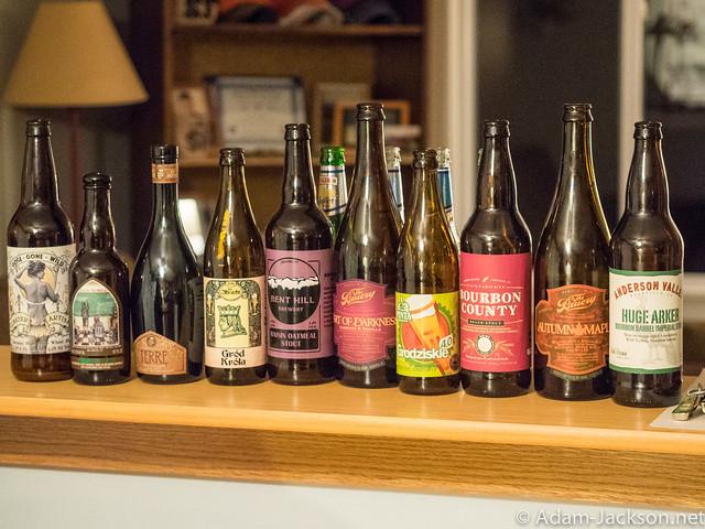 Late-November Beer Tasting