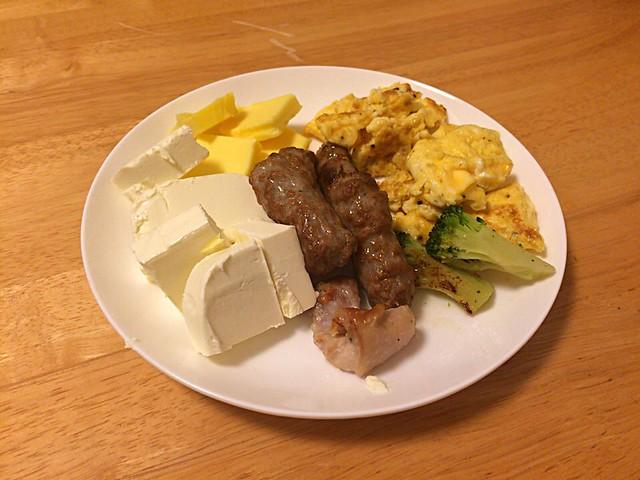 黄色い朝食。
