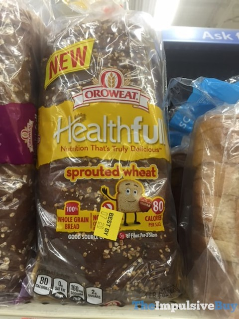 Oroweat Healthfull Sprouted Wheat Bread