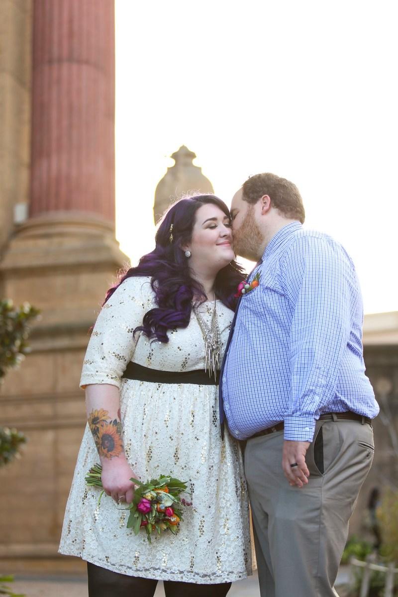 San Francisco Palace of Fine Arts Wedding Photos