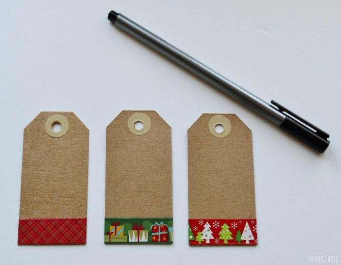Etiquetas de Natal personalizadas 3