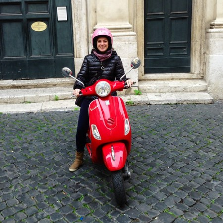 tour in Vespa a Roma