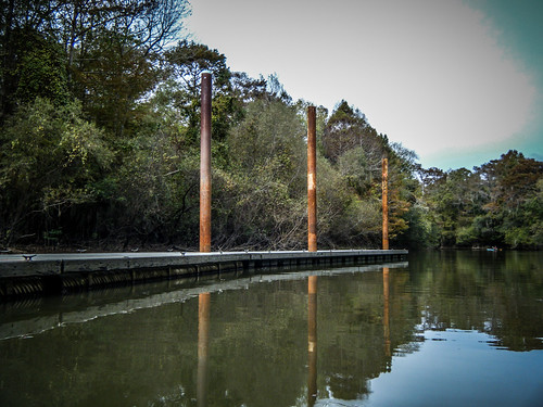 Savannah River from Stokes Bluff with LCU Nov 7, 2014, 4-18 PM Nov 8, 2014, 11-08 AM