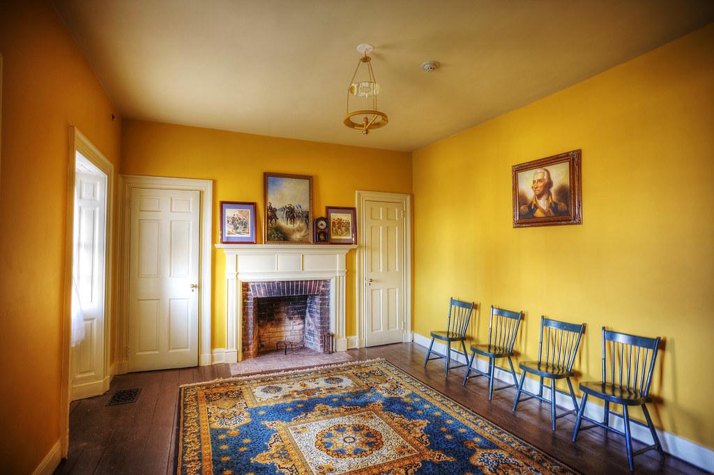 Living Room, Officers Quarters