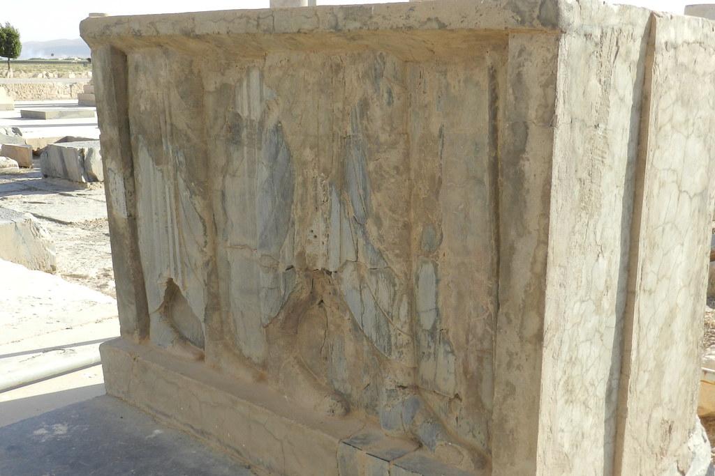 palacio privado de Ciro II El Grande Pasargad Irán 06