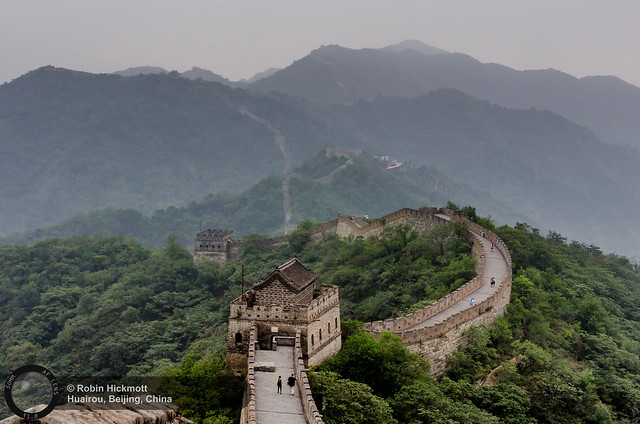 The Great Wall of China 万里长城