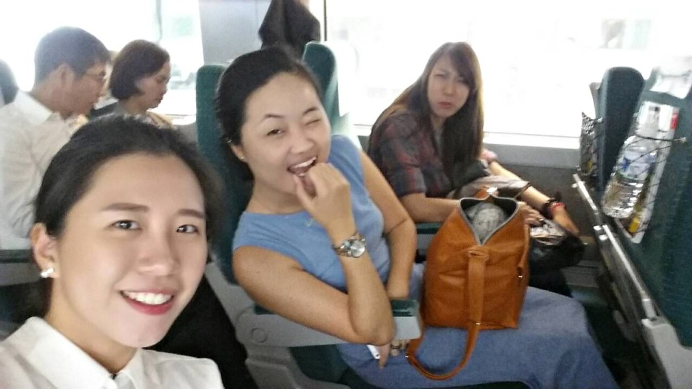 29 Sep 2014: KTX Busan to Seoul at Busan Station | Busan, South Korea