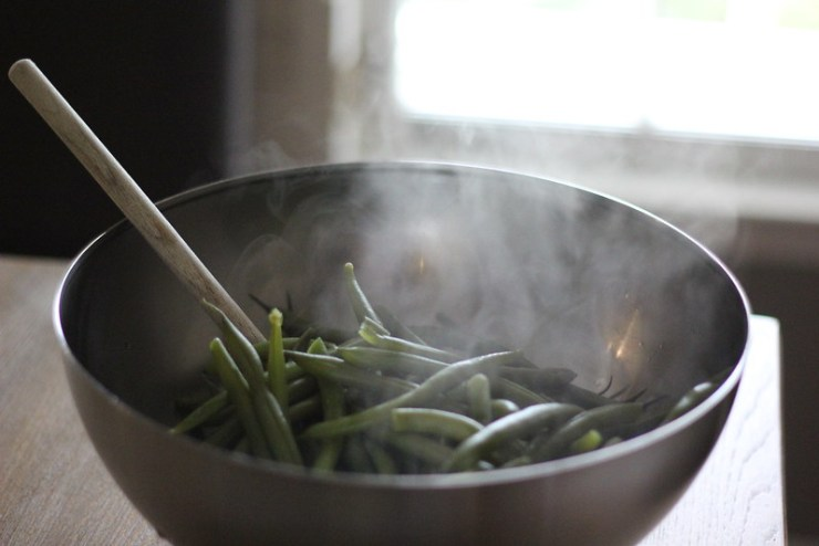 Sweet Pepper Green Beans