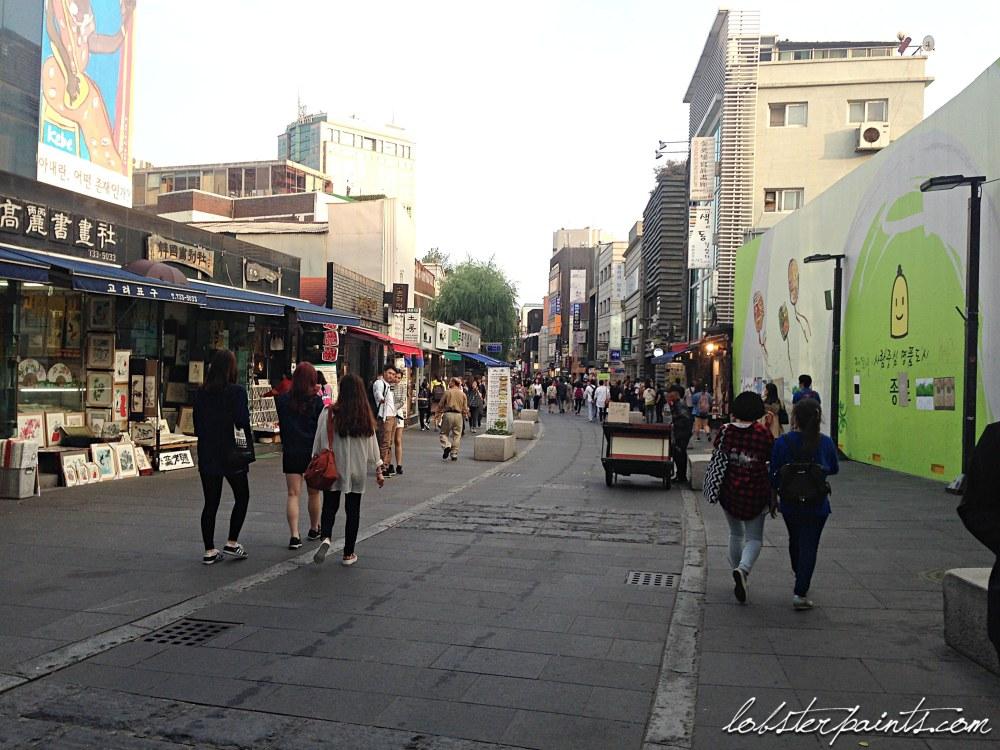 30 Sep 2014: Insadong 인사동 | Seoul, South Korea
