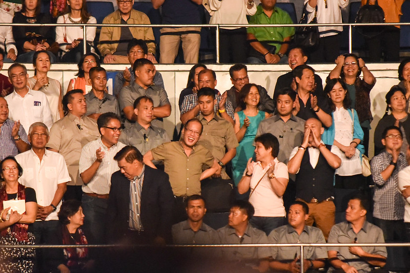 President Aquino and friends