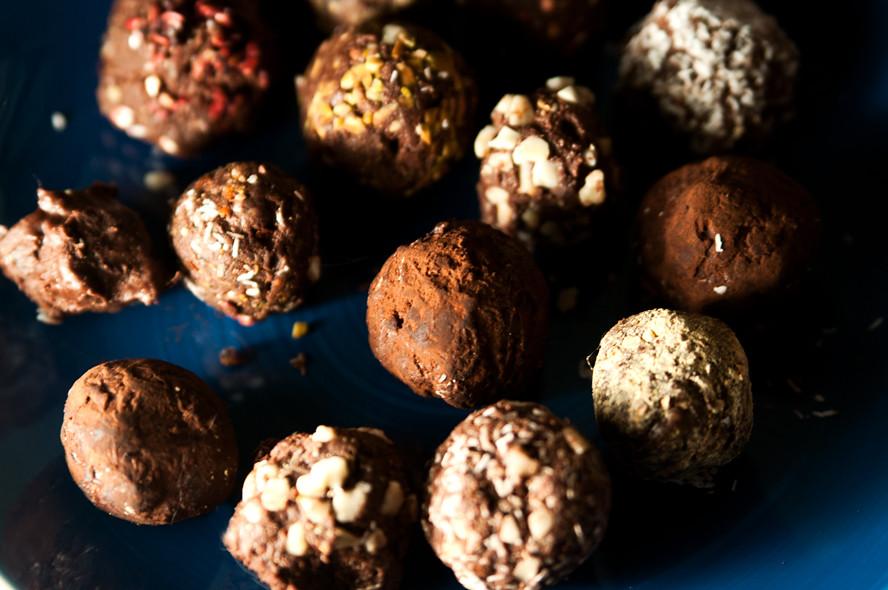 chocolate truffle diy gift receipt